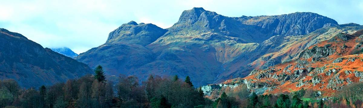 Langdale Pikes at the heart of the Lakes