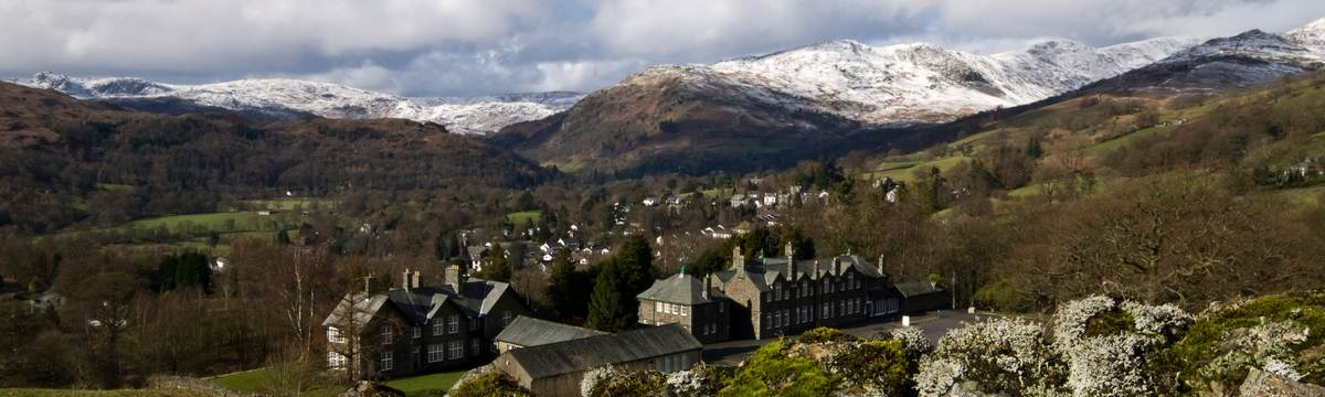 Ambleside from Wansfell photo by Dave Willis