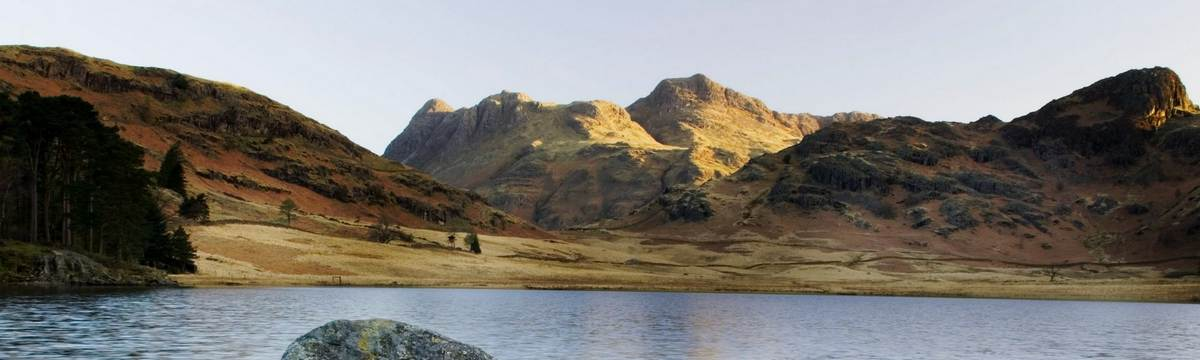 Langdale Pikes from Blea Tarn - photo by Dave Willis
