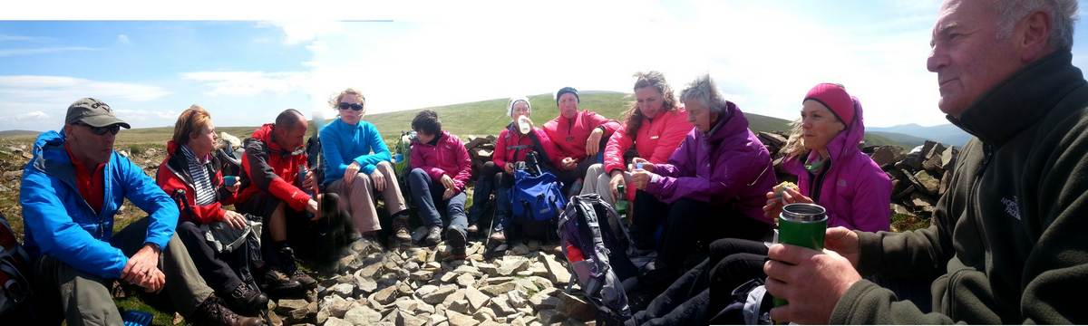 Group on the Caldbeck Fells