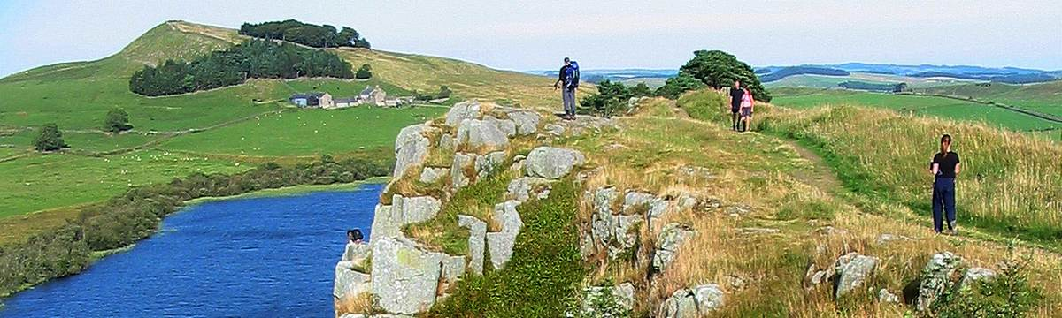Walking Hadrian's Wall on the Reivers Way