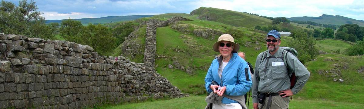 Hadrian's Wall on the Pennine Journey