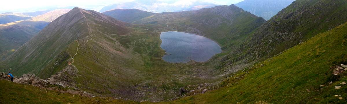 Red Tarn from Helvellyn