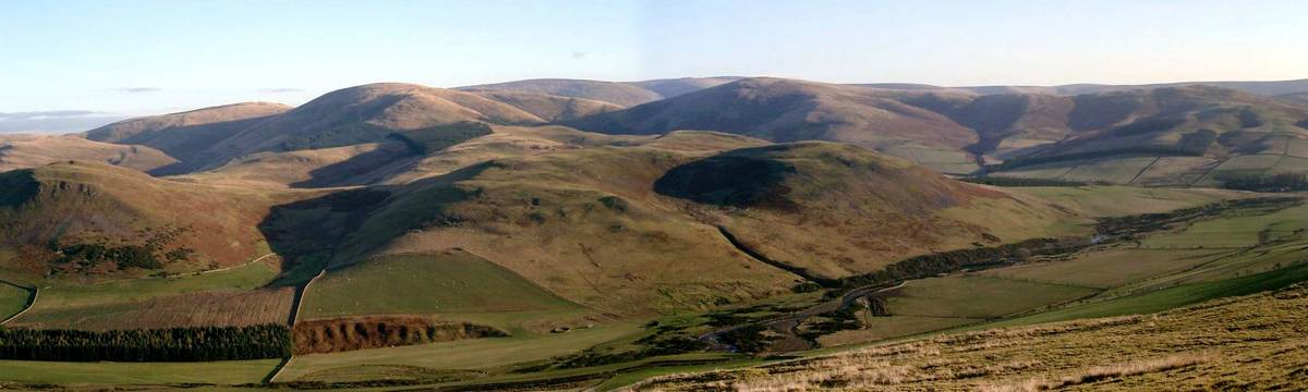 Cheviot Hills on the Reivers Way