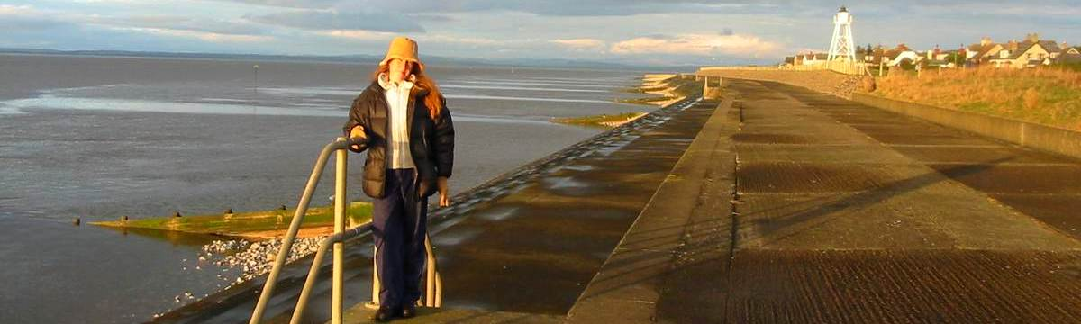 Silloth on the Cumbria Coastal Way