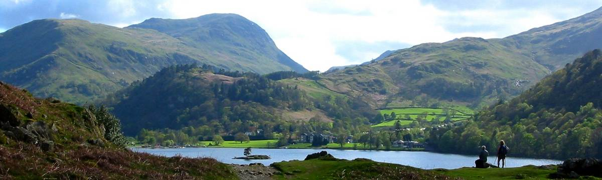 Ullswater on the Westmorland Way
