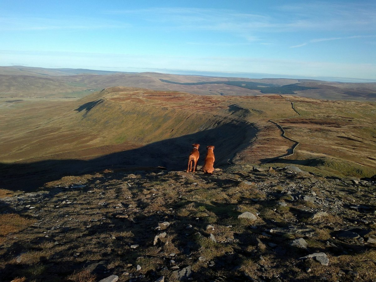 Ingleborough, Pennine Way and Dales High Way